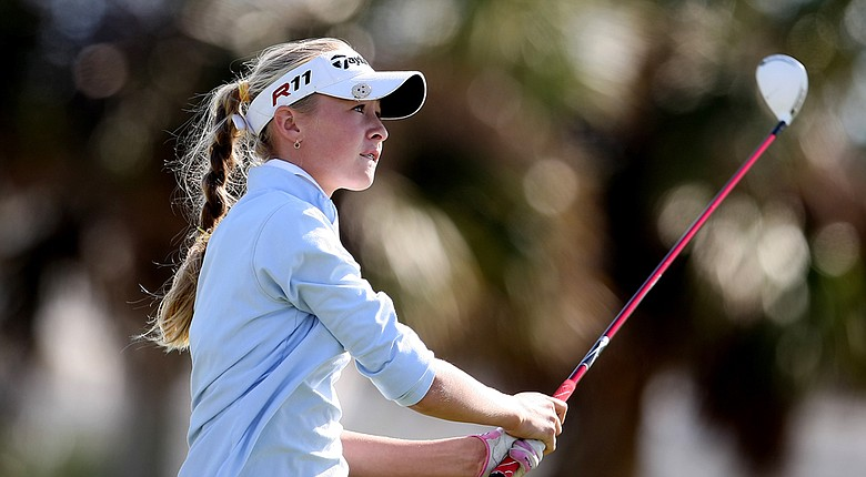 Nelly Korda, 15, won the 2014 Kathy Whitworth Invitational in a playoff.