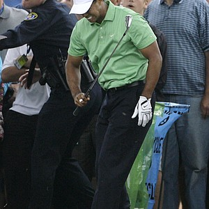 Tiger Woods battled a knee injury during the 2008 U.S. Open at Torrey Pines -- eventually winning a storied Monday playoff against Rocco Mediate for his most recent major victory.