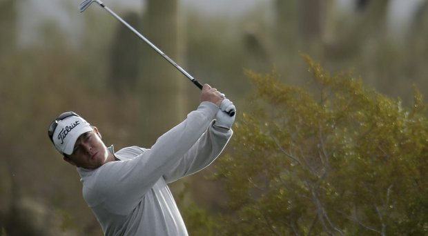 George Coetzee is chasing top-50 qualifying berths for the 2014 Masters and British Open (shown here during the WGC Match Play).