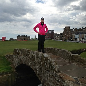 Ashtyn Brown at St. Andrews.