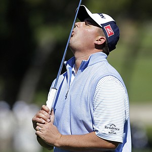 Michael Putnam during Thursday's first round of the PGA Tour's 2014 Valspar Championship near Tampa, Fla.