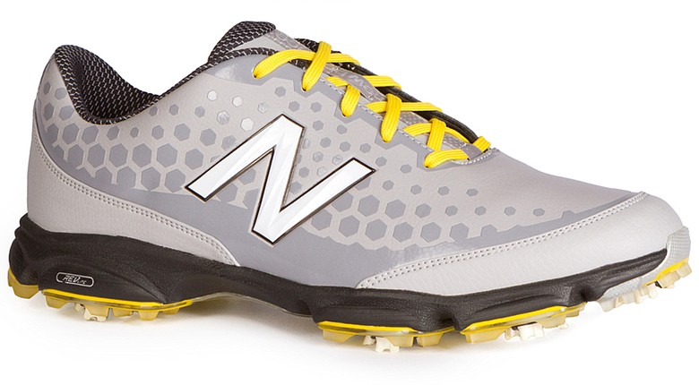 New Balance's NBG2002 (grey with yellow accents)