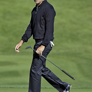 Robert Allenby during Thursday's first round of the PGA Tour's 2014 Valspar Championship near Tampa, Fla.