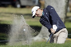 Sean O'Hair during Thursday's first round of the PGA Tour's 2014 Valspar Championship near Tampa, Fla.