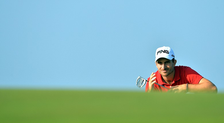 Alejandro Canizares during the second round of the European Tour's Trophee Hasson II.