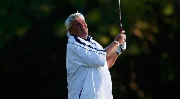 John Daly during the second round of the 2014 Valspar Championship at Innisbrook Resort in Palm Harbor, Fla.