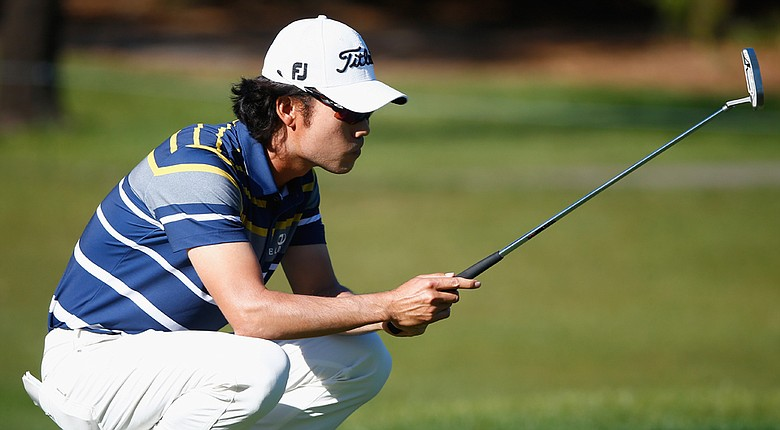 Kevin Na during the second round of the Valspar Championship Friday at Innisbrook Resort's Copperhead course in Palm Harbor, Fla.