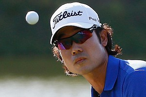 Kevin Na during the third round of the Valspar Championship at Innisbrook Resort.