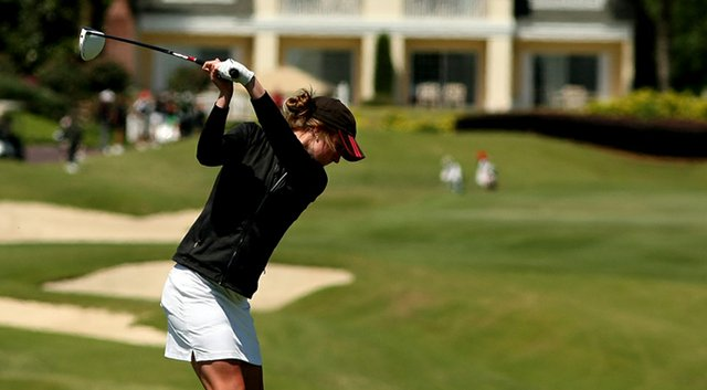 Emily Haas led Louisville to a win at the Clover Cup in Arizona.