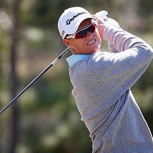 John Senden during the first round of the 2014 Valspar Championship at Innisbrook Resort.