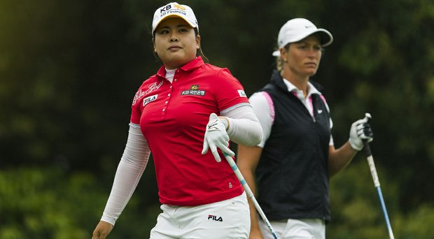 Inbee Park (left) has stayed atop the rankings for 49 weeks, but No. 2 Suzann Pettersen (right) has made it her life's dream to attain the top spot.