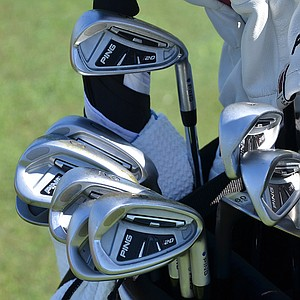 Lee Westwood has been using his Ping i20 irons for almost two years.