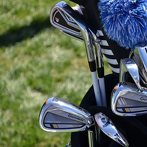 Robert Garrigus nearly won the Valspar Championship last week using this mixed set of TaylorMade RocketBldez Tour and R9 TP irons.