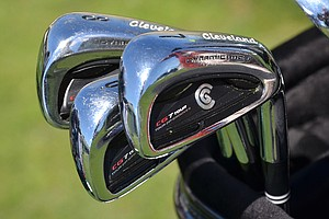Keegan Bradley plays Cleveland's CG 7 Tour irons.