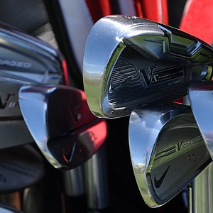 Paul Casey blend a Nike VR_S Forged 3-iron, VR Forged Pro Combo and VR Pro Blade irons into his set.