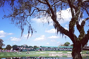 No. 18 during the Arnold Palmer Invitational on Wednesday at Bay Hill Lodge and Club.