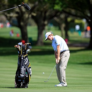 Brandt Snedeker at No. 9 during the pro-am at the Arnold Palmer Invitational on Wednesday at Bay Hill Lodge and Club.