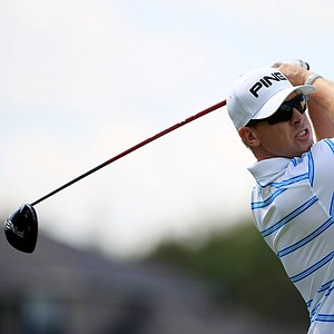 Hunter Mahan during the pro-am at the Arnold Palmer Invitational on Wednesday at Bay Hill Lodge and Club.