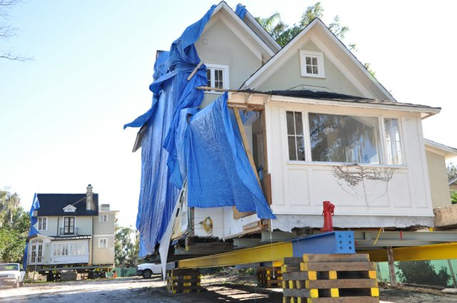 The Capen House project can move ahead after a newly discovered sewer pipe is moved.