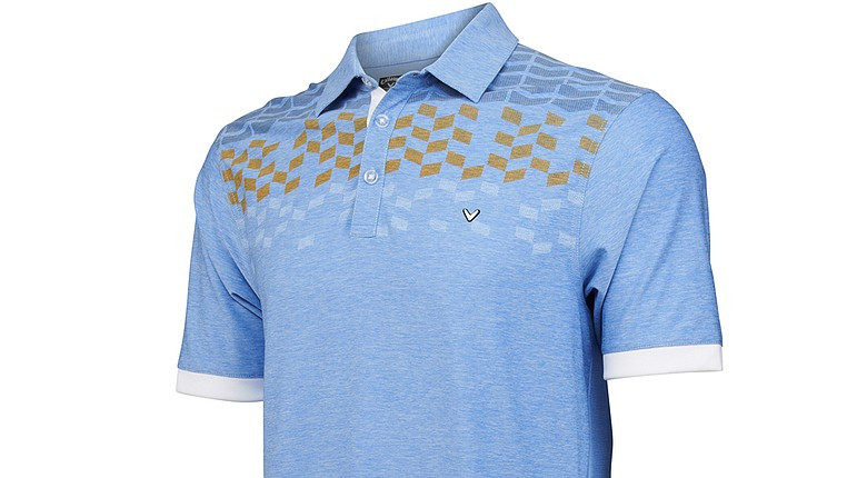 Callaway Golf's Zing polo uses Opti-Series technology.