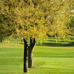 Rickie Fowler hits a shot at No. 16 at the Arnold Palmer Invitational during Round 1 at Bay Hill Lodge and Club.