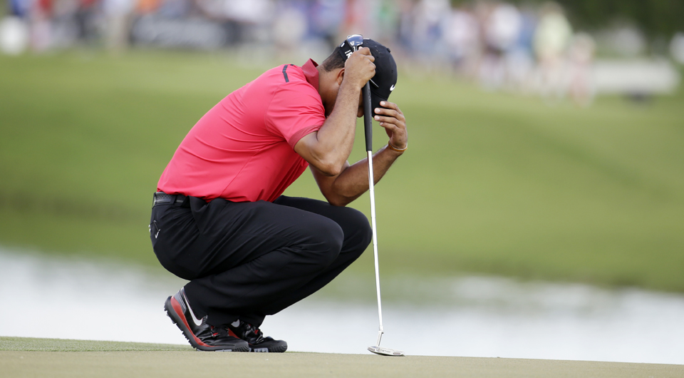 Tiger Woods has been diagnosed with a bulging back disk and won�t need surgery, someone with knowledge of his condition said Thursday.