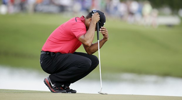 Tiger Woods has been diagnosed with a bulging disk in his back, according to a source with knowledge of the situation.