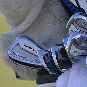 Retief Goosen is among the TaylorMade staff players who have started playing the company's new Tour Preferred MC irons.