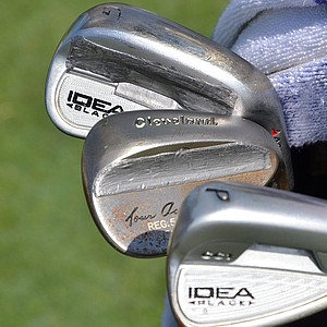 Chad Campbell's Adams Idea Black irons are designed to amplify feel.