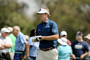 Brandt Snedeker during Round 2 of the Arnold Palmer Invitational at Bay Hill Cub and Lodge.