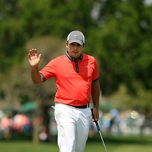 Francesco Molinari during Round 2 of the Arnold Palmer Invitational at Bay Hill Lodge and Club.