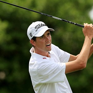 Chesson Hadley in Round 3 of the Arnold Palmer Invitational at Bay Hill Lodge and Club.