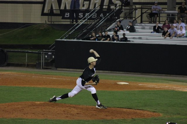 The Knights held Miami to only two runs as they piled on nine in their shocker win.