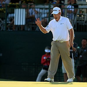 J. B. Holmes in Round 3 of the Arnold Palmer Invitational at Bay Hill Lodge and Club.