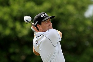 Keegan Bradley in Round 3 of the Arnold Palmer Invitational at Bay Hill Lodge and Club.