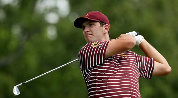 Arizona State sophomore leads the Thunderbird Invitational after the second round.