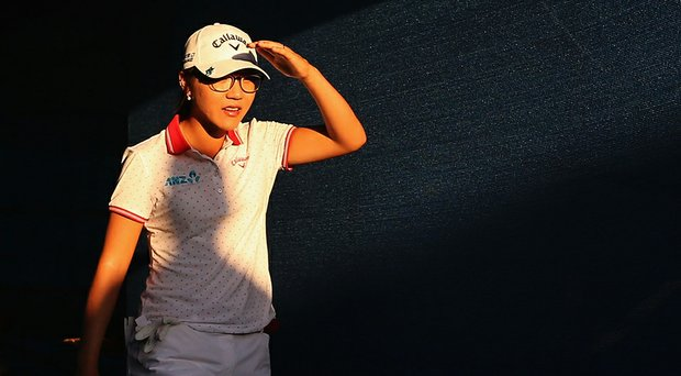 Lydia Ko during Saturday's third round of the LPGA's 2014 JTBC Founders Cup in Phoenix.