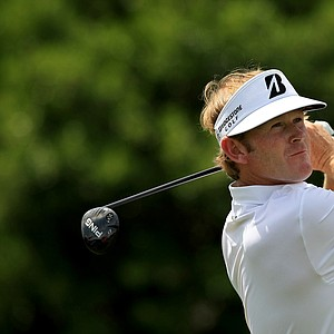 Brandt Snedeker in Round 3 of the Arnold Palmer Invitational at Bay Hill Lodge and Club.