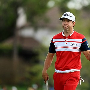 Erik Compton during the final round of the Arnold Palmer Invitational at Bay Hill Lodge and Club.