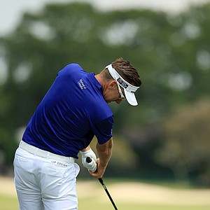 Ian Poulter in Round 3 of the Arnold Palmer Invitational at Bay Hill Lodge and Club.