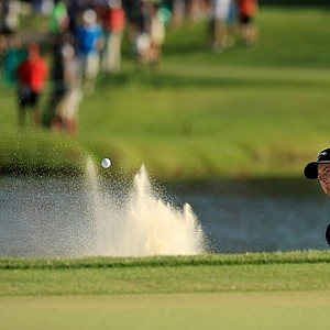 Matt Every nearly holed out at No. 17 during the final round of the Arnold Palmer Invitational at Bay Hill Lodge and Club.