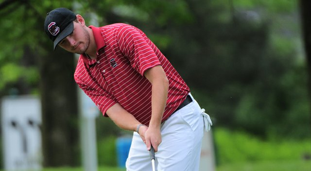 Matt NeSmith and the South Carolina Gamecocks share the lead at the Hootie at Bulls Bay Intercollegiate.