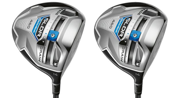 The new TaylorMade SLDR 14-degree driver.