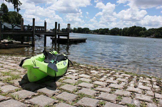 Maitlanders looking for wet fun will have to head to Winter Park as dock work goes on.