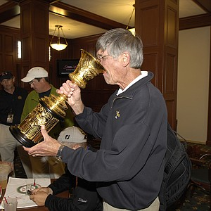 Ron Balicki said he just had to take a drink out of the trophy during the finals of the 2007 U.S. Amateur at the Olympic Club in San Francisco.