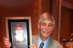 Ron Balicki, longtime college golf writer for Golfweek Magazine, was the first non-coach inducted into the Golf Coaches Association of America's Hall of Fame.
