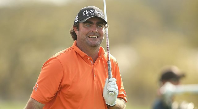 Steven Bowditch during the third round of the Valero Texas Open.