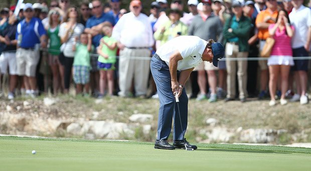 Phil Mickelson withdrew from the Valero Texas Open during Saturday's third round at TPC San Antonio.
