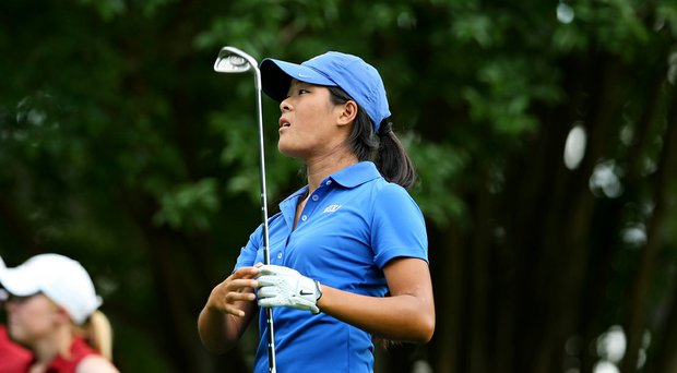 Duke sophomore Celina Boutier took medalist honors at the Bryan National Collegiate.