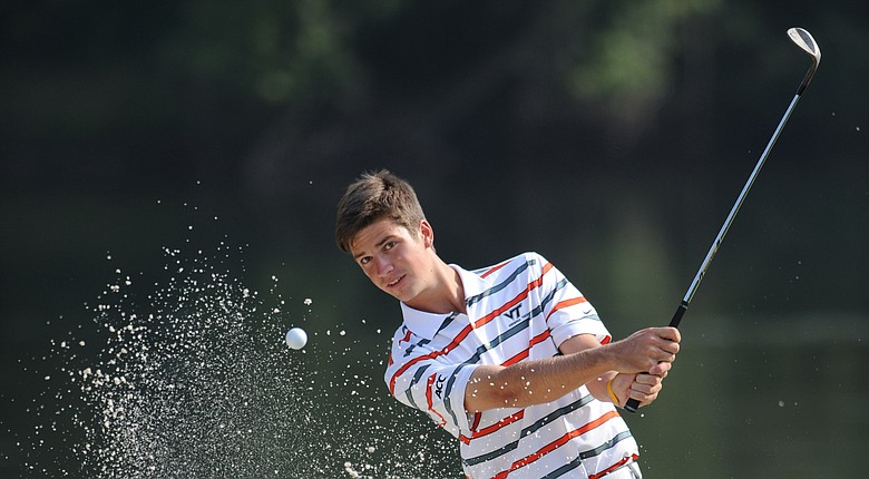 Virginia Tech's Trevor Cone won medalist honors at the Furman Intercollegiate.
